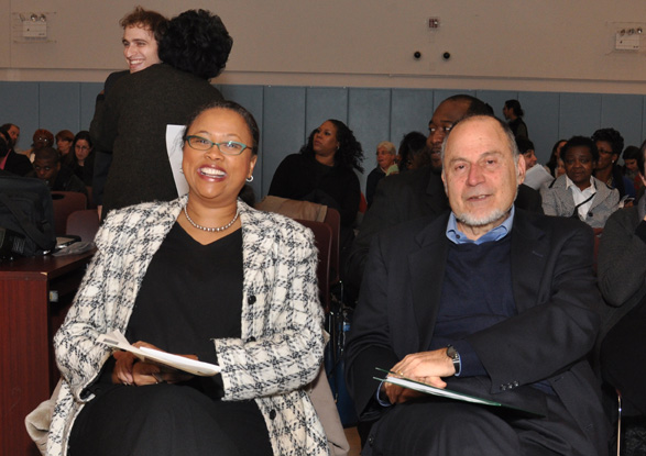 Echoing Green's Cheryl Dorsey and Richard Cherry of Community Environmental Center