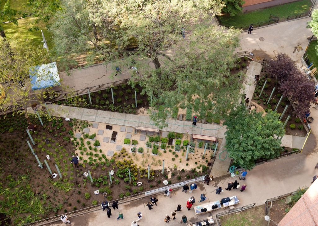 Gcf Helps Open Park Featured In The New York Times Green City Force