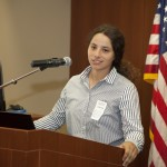Corps Member Krystal Ruiz Delivers Address