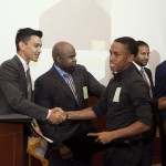 Corps Member Decatur Gooden Receives Certificate of Completion