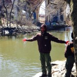 Abdu at Bronx River