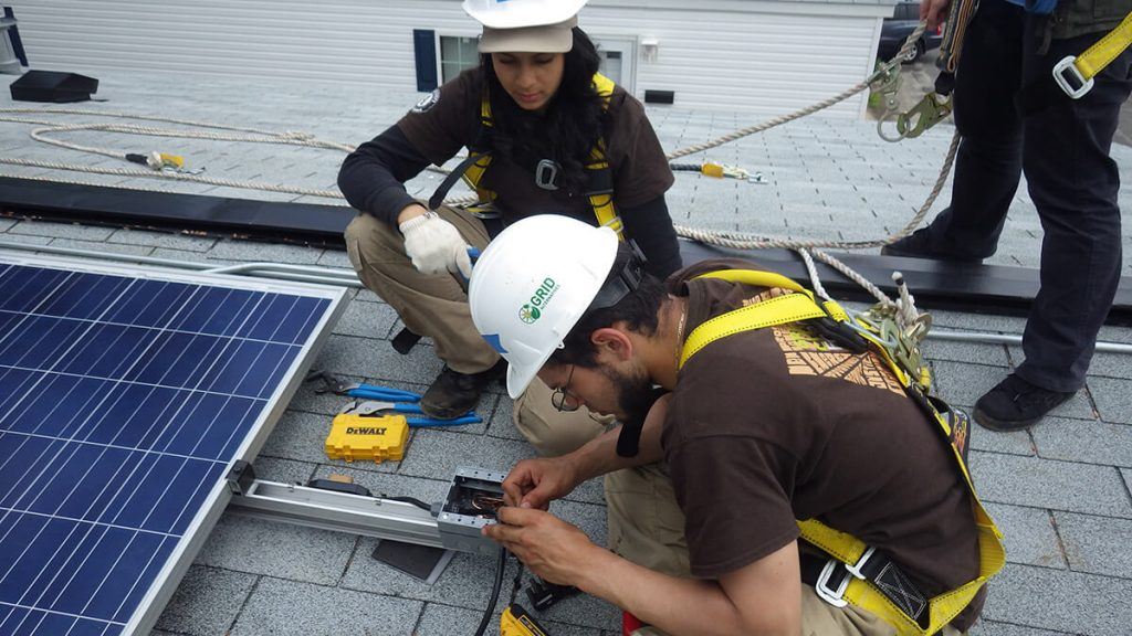 Solar Comes To NYCHA = Jobs For GCF Grads - Green City Force